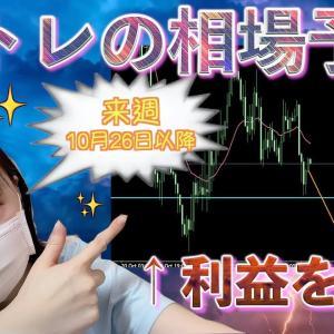 [FXおすすめ]【FX】10月26日以降はこの動きを狙え!!(相場予想)