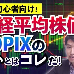 [投資おすすめ]投資初心者向け!日経平均株価とTOPIXの決定的な違いを説明致します。