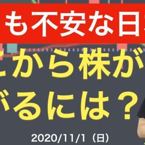 [株おすすめ]とても不安な日本株!ここから株が上がるには?【11/1(日)】