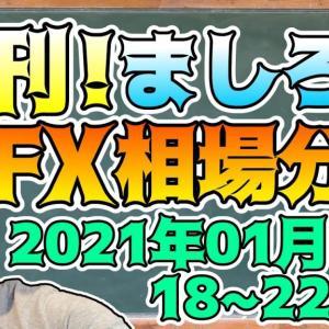 [FXおすすめ]週刊!ましろのFX相場分析!(2021/01/18~22分)