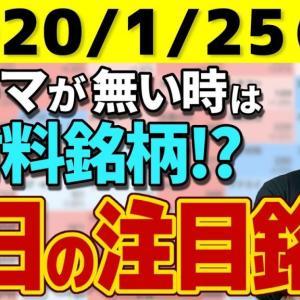 [株おすすめ]【10分株ニュース】2021年1月25日(月)