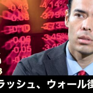 [株おすすめ]日経平均クラッシュ、半導体株が発生点、ウォール街の警告!