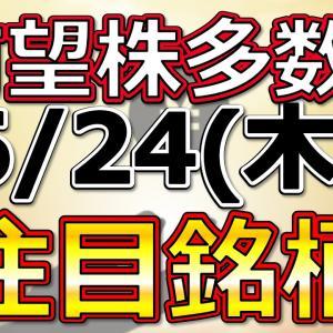 [株おすすめ]有望株多数!【6月24日(木)の注目銘柄まとめ】本日の株式相場振り返りと明日の注目銘柄・注目株・好材料・サプライズ決算を解説、株式投資の参考に。Japan stock market today