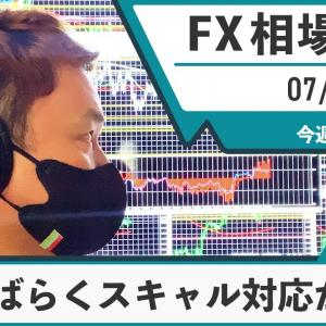 [FXおすすめ]7月26日 FX 相場考察【今週FOMC!しばらくはスキャル対応が得策?】