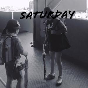 土曜日授業の子供たち