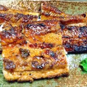 鰻の蒲焼きと白焼き作りました