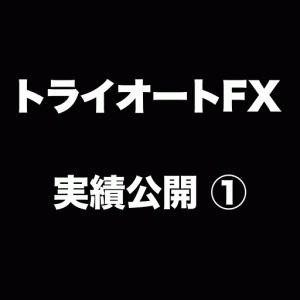 トライオートFX開始1週間の実績!100万円で運用START!!!