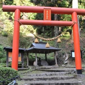 クロスバイクで東金砂神社に行ってみた