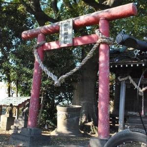 クロスバイクで甲稲荷神社に立ち寄ってみた