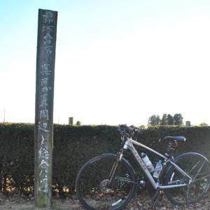 クロスバイクで那珂八景の一部を巡ってみた