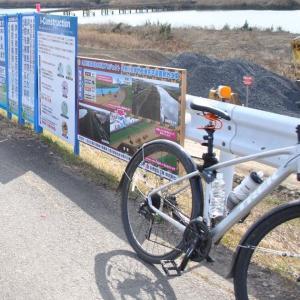 久慈川の堤防補強工事が凄いハイテクだったので立ち寄ってみた