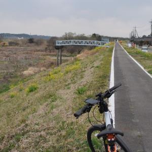 「新落合橋」付近に工事車両が!?ついに復旧工事開始!?