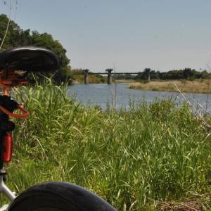 クロスバイクで小場江堰頭首工(那珂川左岸)に行ってみた その1