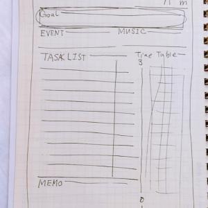 自作スケジュール帳造り・その2