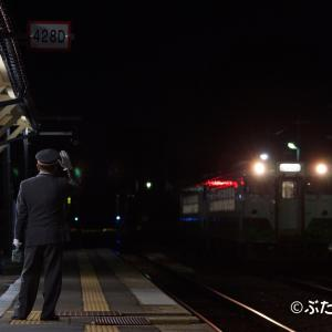 【JR東日本只見線】キハ40形 到着監視
