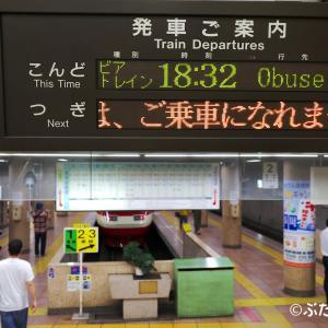 【長野電鉄】1000系S2編成・3600系L2編成 今年も「ながでんビアトレイン」