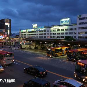 【新潟交通】新潟ブルースな新潟駅前バスターミナル
