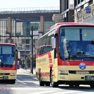 【長電バス】1558号車 長野東京線運行開始60周年記念(4)