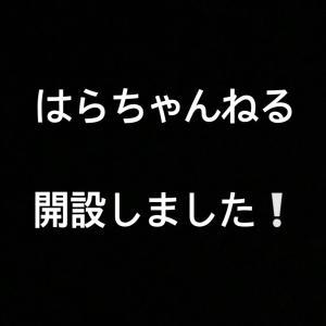 はらちゃんねる開設!!