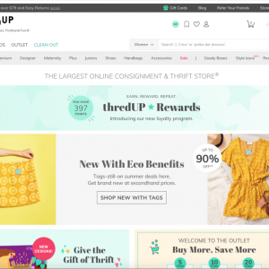 アメリカで節約:thredUPで、不要な洋服を売る。