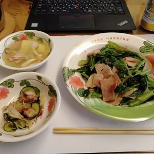 夏には酢の物&炒めものには創味シャンタン タイ王国の片田舎で食べたものを徒然に '20.7.11