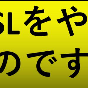 もうSL投資なんかあほくさい!!