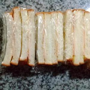 【お弁当づくりをラクにできる】ハムサンドは冷凍できるのです!!