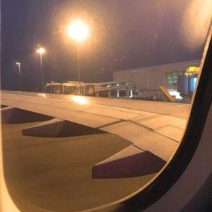 エアアジアでKLIA2へ到着、入国審査を受ける。