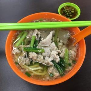 絶品、豚肉麺!ピーターズ・ポーク・ヌードル(Peter's Pork Noodle)