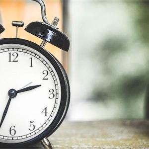 jogの日は4時半起き、ポイント練は4時起き。早朝練習習慣を再度見直してみる。