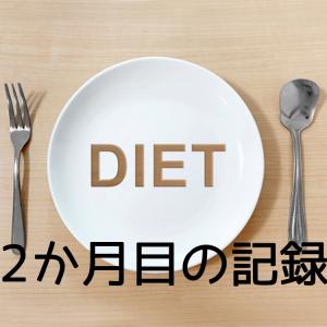 ダイエット2ヶ月目の記録と反省そして軌道修正
