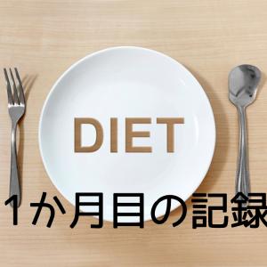 ダイエット1ヶ月目の反省