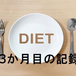 ダイエット3ヶ月目の記録と反省