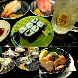 みなさん、回転寿司で何皿食べるのかな?