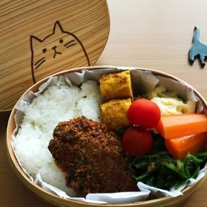 猫のわっぱ弁当ブログ226(アジフライ弁当)