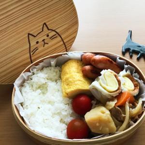 猫のわっぱ弁当ブログ230(肉じゃが弁当)