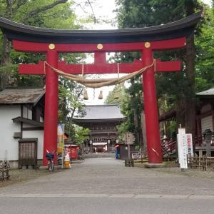 伊佐須美神社に行ってみた。