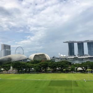 THE シンガポールな記念写真を