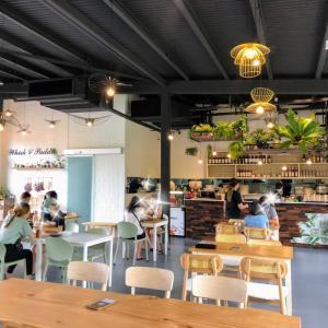 教習所のお向かいのカフェ
