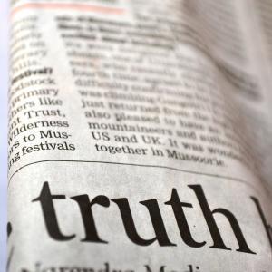 事実と事実でないことを分けることが大切