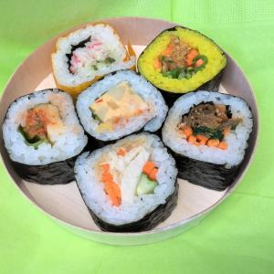 大手町サンケイビルB2階「MAKI-Handrolls-」でカラフルな巻き寿司をテイクアウト!セットは200円から