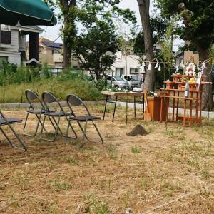 【リアルタイム】地鎮祭と近所へのご挨拶