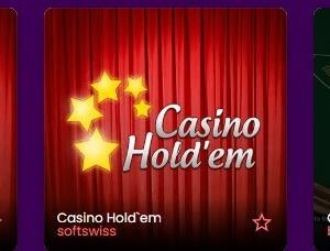 カジノのポーカー  ライブカジノ挑戦の前にテーブルゲームの「カジノホールデム」 で肩慣らし