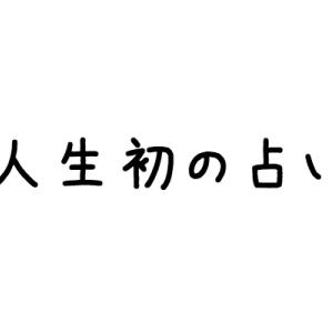 【雑記】人生初の占いが楽しすぎたw