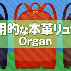 意外と軽い!シンプルで実用的な本革リュックを買いました。Organ本革リュックサックを紹介。