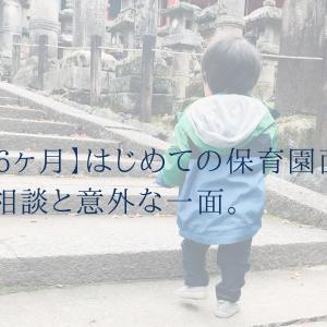 【1歳6ヶ月】はじめての保育園面談。育児相談と意外な一面。
