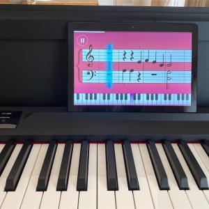 62歳からのピアノ、猛練習中。