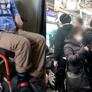 満員電車で泣いていた車椅子の少年。それを目撃したおじさんは信じられない行動に出た。