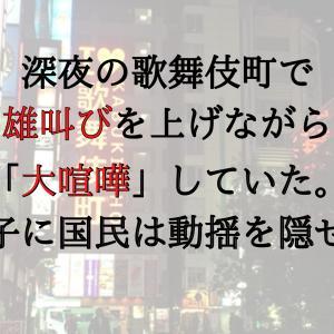 深夜の歌舞伎町で「大喧嘩」雄叫びを上げるほどの大騒ぎでネット民が唖然…。