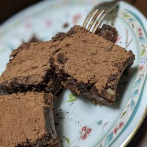 乳・卵・砂糖不使用!粉なし!計量いらずのチョコレートケーキ♡